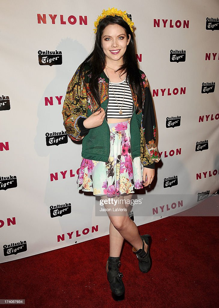 Actress <a gi-track='captionPersonalityLinkClicked' href=/galleries/search?phrase=Grace+Phipps&family=editorial&specificpeople=7432965 ng-click='$event.stopPropagation()'>Grace Phipps</a> attends Nylon Magazine's Young Hollywood issue event at The Roosevelt Hotel on May 14, 2013 in Hollywood, California.