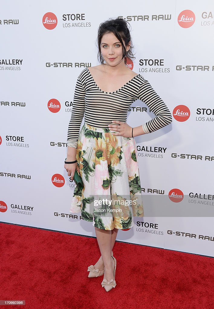 Actress Grace Phipps attends the Leica Store Los Angeles grand opening on June 20, 2013 in Los Angeles, California.