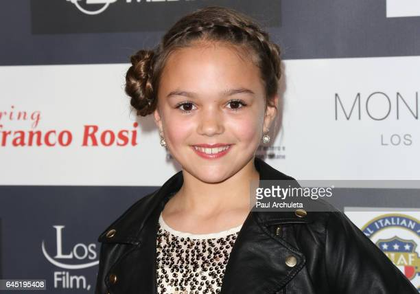 Actress Grace Townsend attends the 12th edition of The Los Angeles Italia Film Fashion and Art Fest closing nite at TCL Chinese 6 Theatres on...