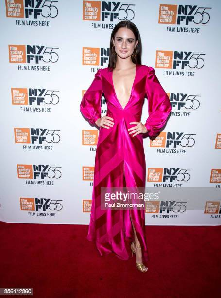 Actress Grace Van Patten attends the 55th New York Film Festival screening of 'Meyerowitz Stories' at Alice Tully Hall on October 1 2017 in New York...