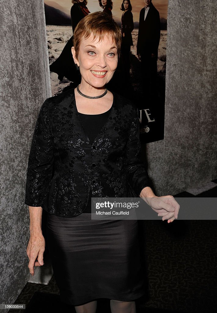 Actress Grace Zabriskie arrives at HBO's 'Big Love' Season 5 Premiere held at the Directors Guild Of America on January 12, 2011 in Los Angeles, California.