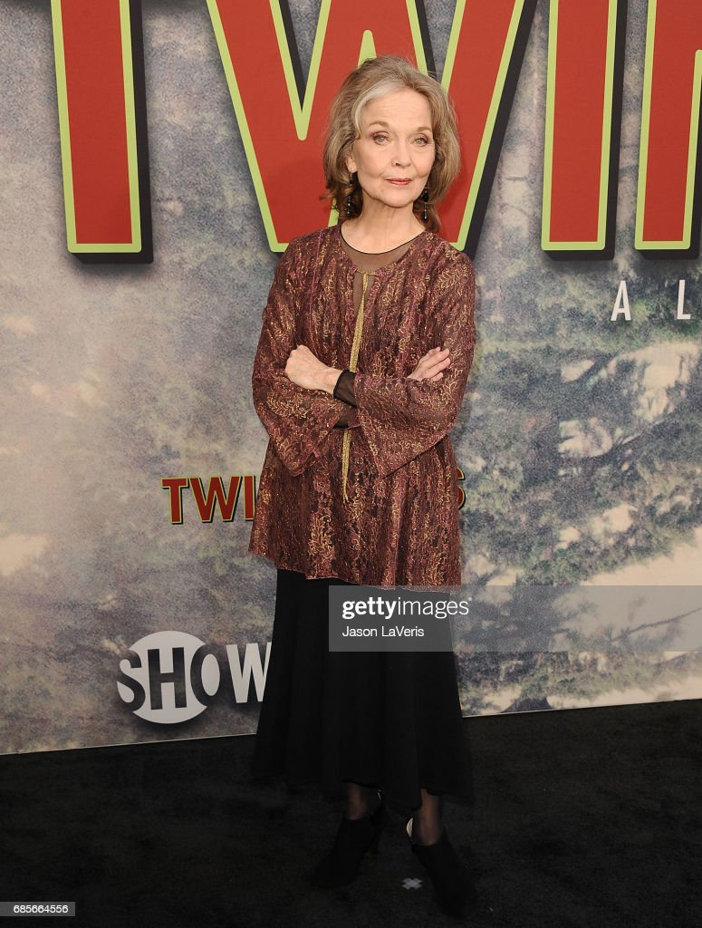 Actress Grace Zabriskie attends the premiere of 'Twin Peaks' at Ace Hotel on May 19, 2017 in Los Angeles, California.