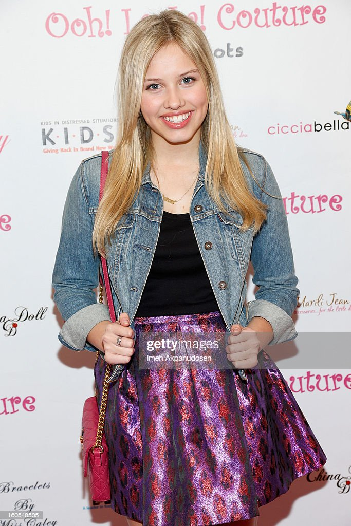 Actress Gracie Dzienny attends the 4th Annual Tutus4Tots Event at Together We Rise on February 2, 2013 in Chino, California.