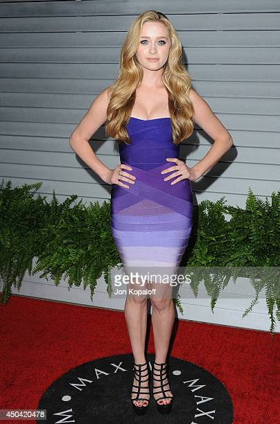 Actress Greer Grammer arrives at the MAXIM Hot 100 Celebration Event at Pacific Design Center on June 10 2014 in West Hollywood California