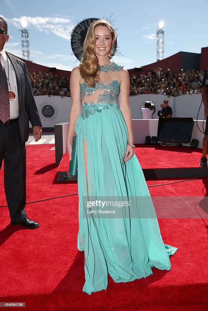 Actress Greer Grammer attends the 2014 MTV Video Music Awards at The Forum on August 24 2014 in Inglewood California