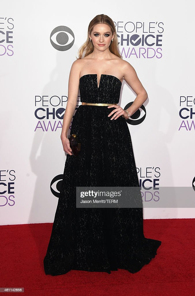 Actress Greer Grammer attends The 41st Annual People's Choice Awards at Nokia Theatre LA Live on January 7 2015 in Los Angeles California