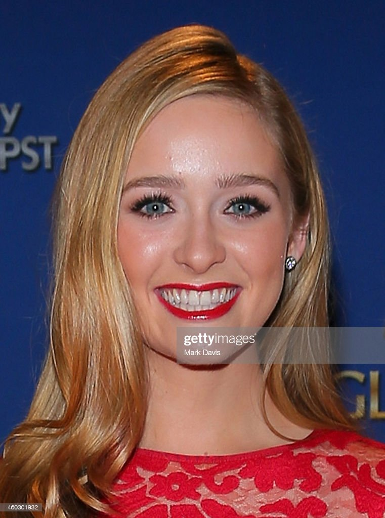 Actress Greer Grammer attends the 72nd Annual Golden Globe Awards Nominations Announcement at The Beverly Hilton Hotel on December 11 2014 in Los...