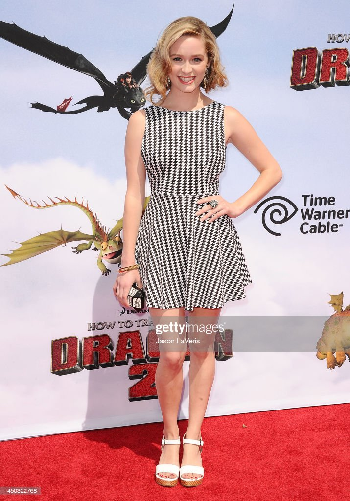 Actress Greer Grammer attends the premiere of 'How To Train Your Dragon 2' at Regency Village Theatre on June 8 2014 in Westwood California