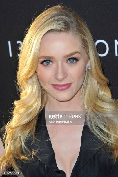 Actress Greer Grammer attends the Premiere of Netflix's '13 Reasons Why' at Paramount Pictures on March 30 2017 in Los Angeles California