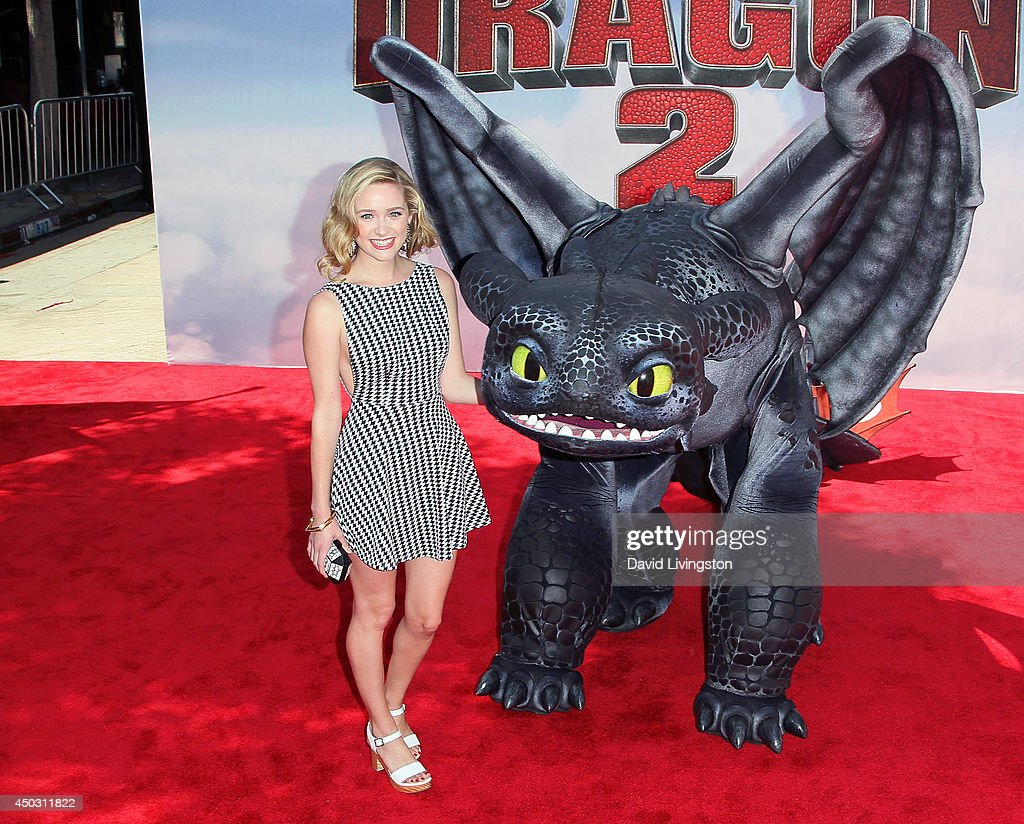 Actress Greer Grammer attends the premiere of Twentieth Century Fox and DreamWorks Animation 'How to Train Your Dragon 2' at the Regency Village Theatre on June 8, 2014 in Westwood, California.