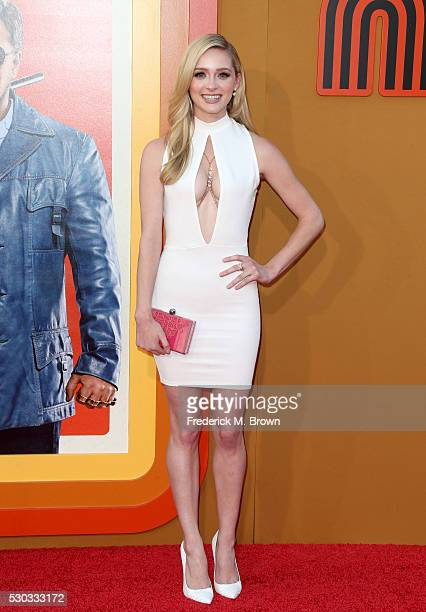 Actress Greer Grammer attends the premiere of Warner Bros Pictures' 'The Nice Guys' at TCL Chinese Theatre on May 10 2016 in Hollywood California