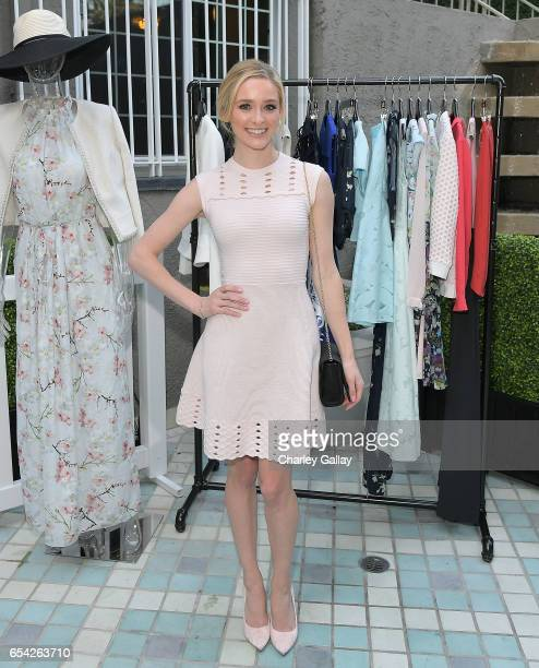 Actress Greer Grammer attends the Ted Baker London Spring/ Summer 17 Launch Dinner at The Chamberlain on March 16 2017 in West Hollywood California