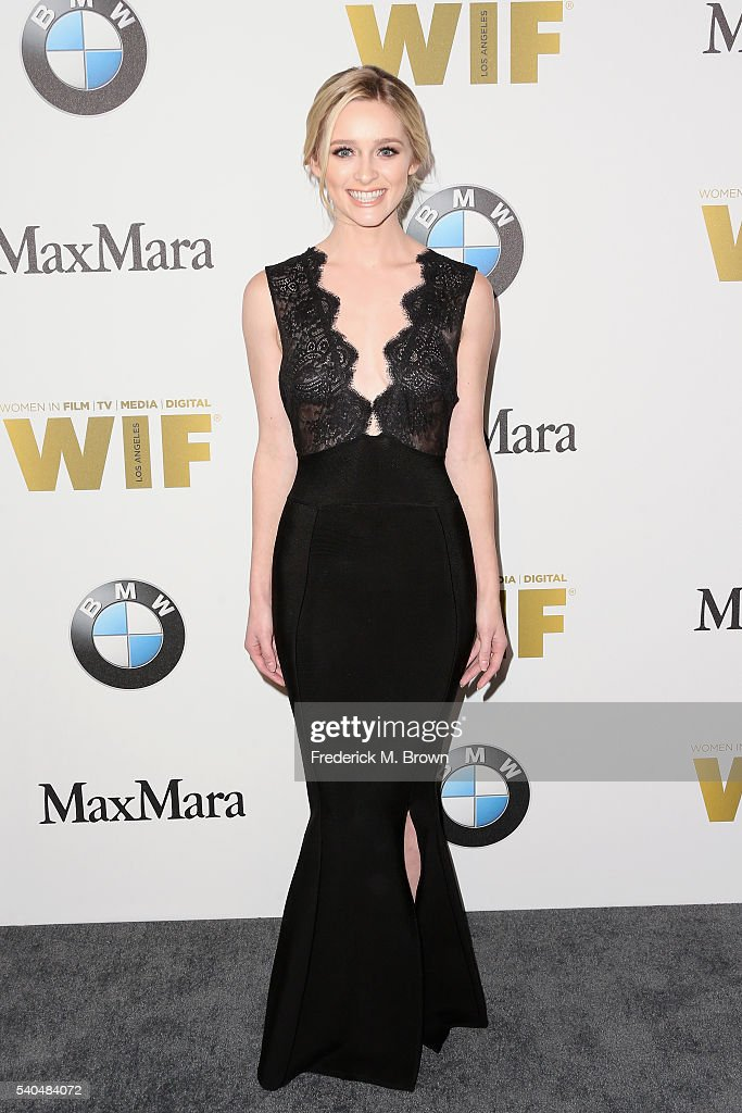 Actress Greer Grammer attends Women In Film 2016 Crystal Lucy Awards Presented by Max Mara and BMW at The Beverly Hilton on June 15 2016 in Beverly...