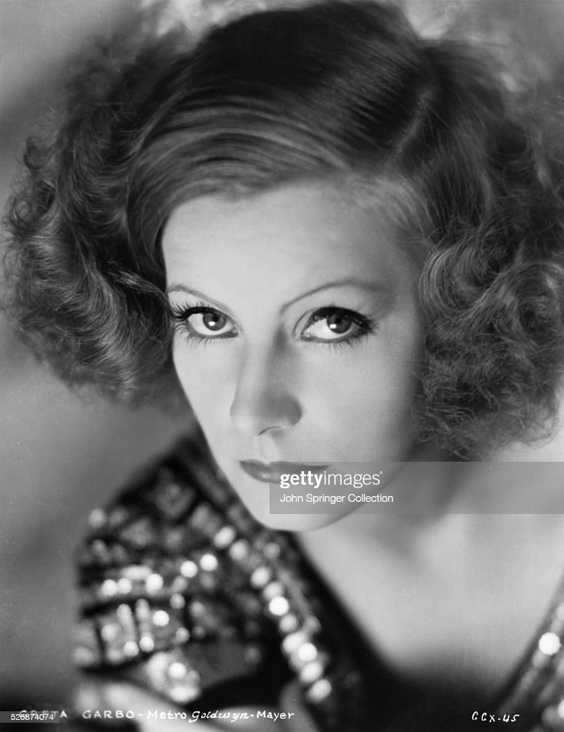 Actress Greta Garbo