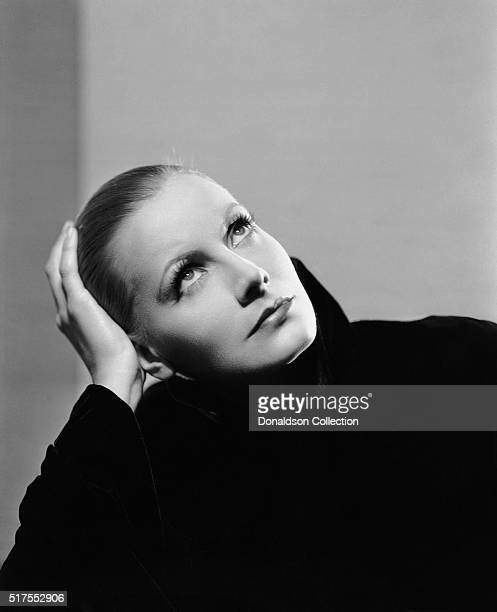 Actress Greta Garbo poses for a publicity photo for the MGM movie 'Mata Hari' which was released in 1931