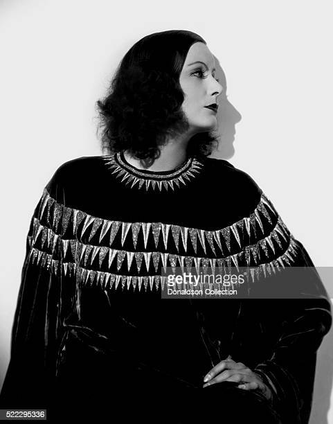 Actress Greta Garbo poses for a publicity still for the MGM film 'The Single Standard' in 1929 in Los Angeles California