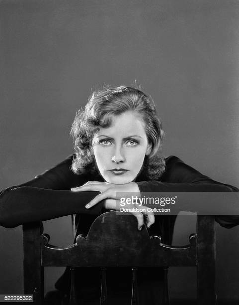 Actress Greta Garbo poses for an MGM publicity still circa 1935 in Los Angeles California