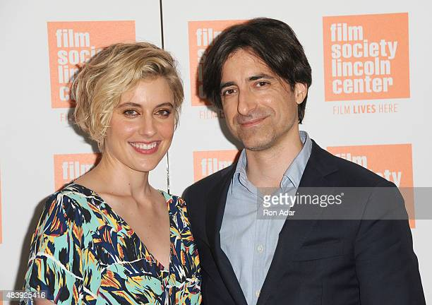 Actress Greta Gerwig and Director Noah Baumbach attend the 2015 Film Society Of Lincoln Center Summer Talks With 'Mistress America' at Elinor Bunin...