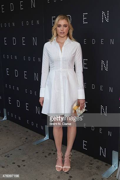 Actress Greta Gerwig arrives for the New York premiere of 'Eden' held at the IFC Center on June 8 2015 in New York City