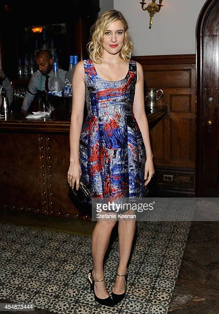 Actress Greta Gerwig at the 'While We're Young' world premiere party hosted by GREY GOOSE vodka and Soho House Toronto during TIFF on September 6...