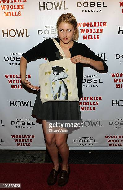 Actress Greta Gerwig attends 'Howl' New York screening at the IFC Center on September 22 2010 in New York City