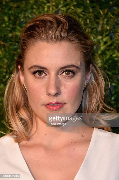 Actress Greta Gerwig attends the 11th annual CFDA/Vogue Fashion Fund Awards at Spring Studios on November 3 2014 in New York City