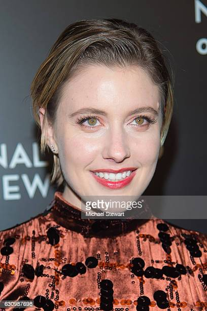 Actress Greta Gerwig attends the 2016 National Board of Review Gala at Cipriani 42nd Street on January 4 2017 in New York City