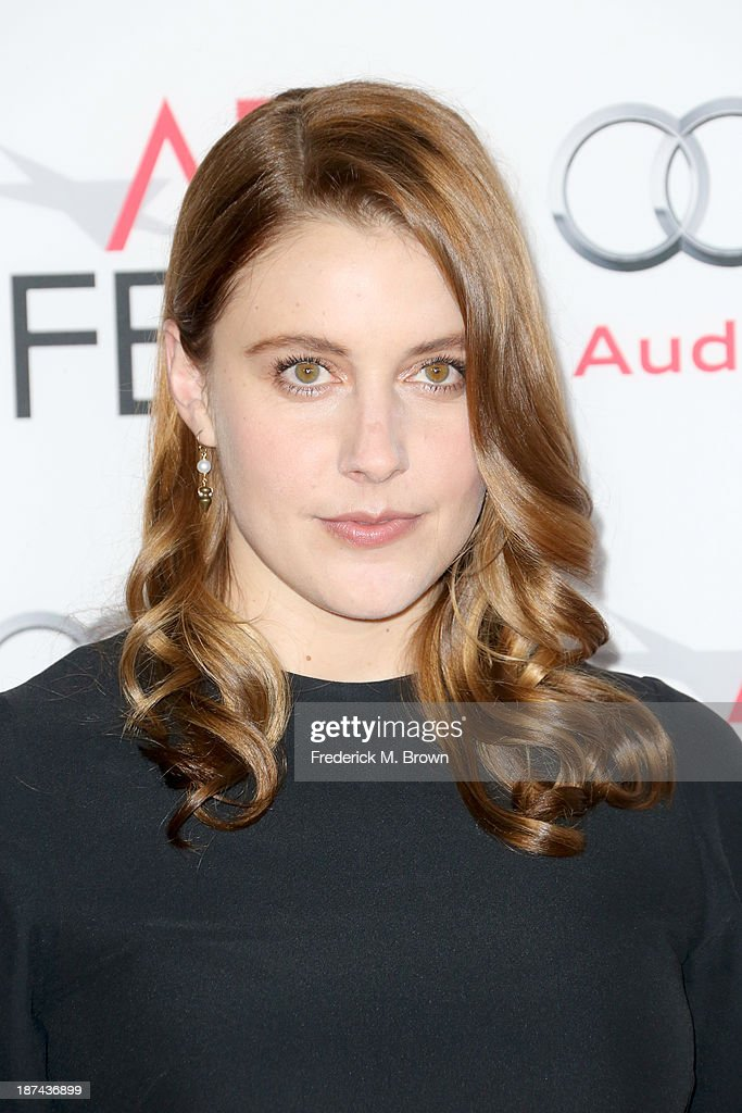Actress Greta Gerwig attends The Los Angeles Times Young Hollywood Roundtable during AFI FEST 2013 presented by Audi at TCL Chinese Theatre on November 8, 2013 in Hollywood, California.