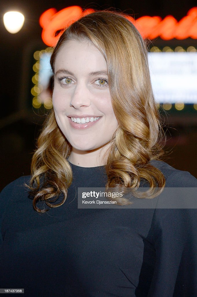 Actress <a gi-track='captionPersonalityLinkClicked' href=/galleries/search?phrase=Greta+Gerwig&family=editorial&specificpeople=4249808 ng-click='$event.stopPropagation()'>Greta Gerwig</a> attends The Los Angeles Times Young Hollywood Roundtable during AFI FEST 2013 presented by Audi at TCL Chinese Theatre on November 8, 2013 in Hollywood, California.