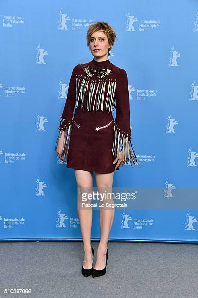 Actress Greta Gerwig attends the 'Maggie's Plan' photo call during the 66th Berlinale International Film Festival Berlin at Grand Hyatt Hotel on...