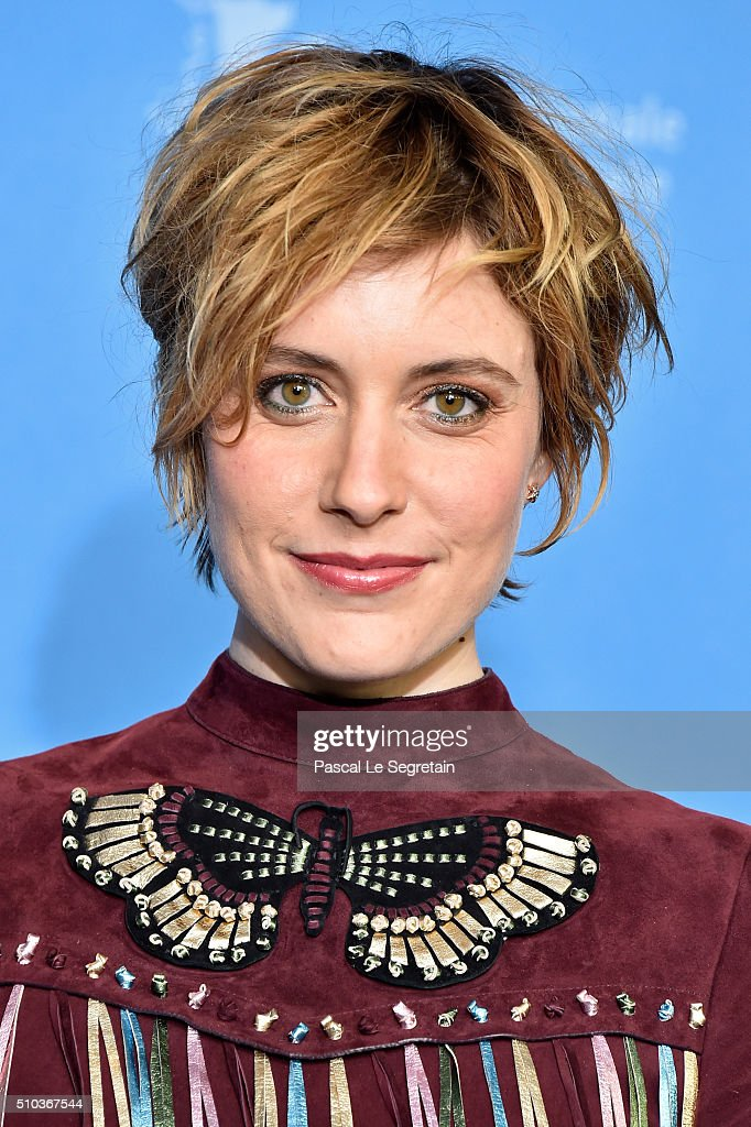Actress <a gi-track='captionPersonalityLinkClicked' href=/galleries/search?phrase=Greta+Gerwig&family=editorial&specificpeople=4249808 ng-click='$event.stopPropagation()'>Greta Gerwig</a> attends the 'Maggie's Plan' photo call during the 66th Berlinale International Film Festival Berlin at Grand Hyatt Hotel on February 15, 2016 in Berlin, Germany.