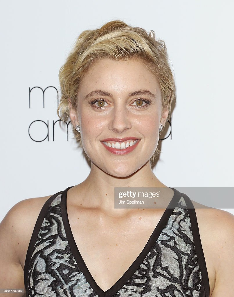 Actress <a gi-track='captionPersonalityLinkClicked' href=/galleries/search?phrase=Greta+Gerwig&family=editorial&specificpeople=4249808 ng-click='$event.stopPropagation()'>Greta Gerwig</a> attends the 'Mistress America' New York premiere at Landmark Sunshine Cinema on August 12, 2015 in New York City.
