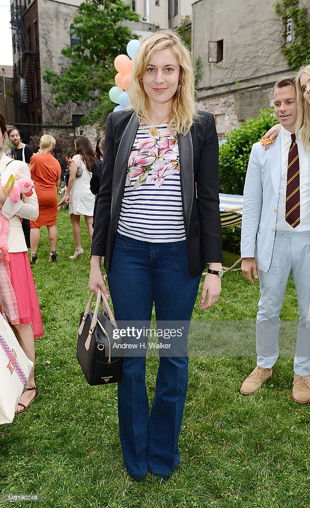 Actress Greta Gerwig attends the Stella McCartney Resort 2013 Presentation on June 11, 2012 in New York City.
