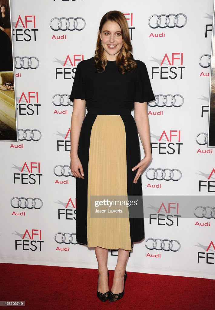 Actress <a gi-track='captionPersonalityLinkClicked' href=/galleries/search?phrase=Greta+Gerwig&family=editorial&specificpeople=4249808 ng-click='$event.stopPropagation()'>Greta Gerwig</a> attends the Young Hollywood Roundtable at the 2013 AFI Fest at TCL Chinese Theatre on November 8, 2013 in Hollywood, California.