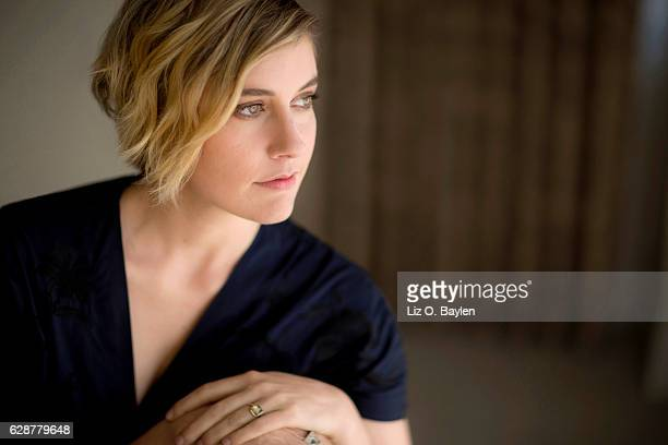 Actress Greta Gerwig of '20th Century Women' is photographed for Los Angeles Times on November 16 2016 in Los Angeles California PUBLISHED IMAGE...