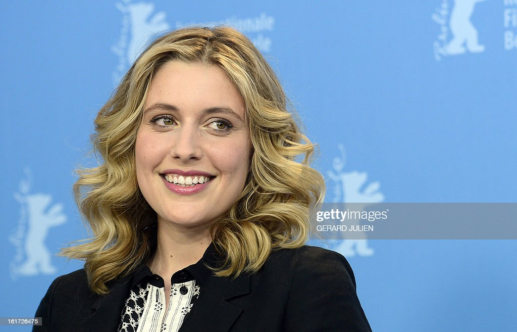 US actress Greta Gerwig poses during a photocall for the film 'Frances Ha' presented in the Panorama Special category of the 63rd Berlin International Film Festival in Berlin on February 14, 2013. AFP PHOTO / GERARD JULIEN