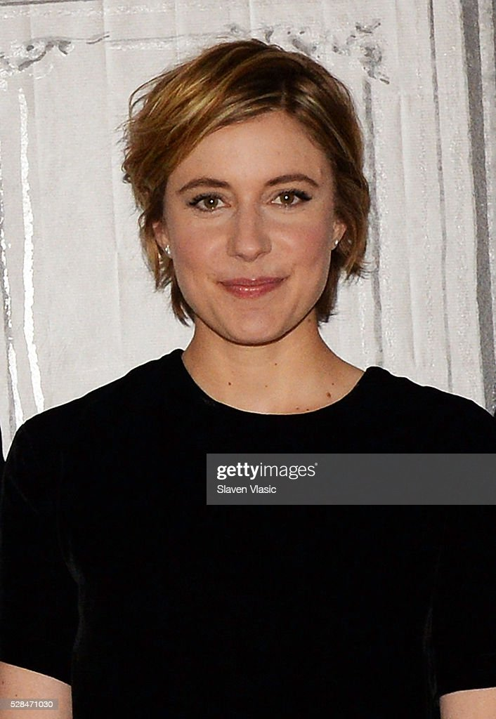 Actress <a gi-track='captionPersonalityLinkClicked' href=/galleries/search?phrase=Greta+Gerwig&family=editorial&specificpeople=4249808 ng-click='$event.stopPropagation()'>Greta Gerwig</a> visits AOL Build to talk about her new movie ''Maggies Plan' at AOL Studios In New York on May 5, 2016 in New York City.