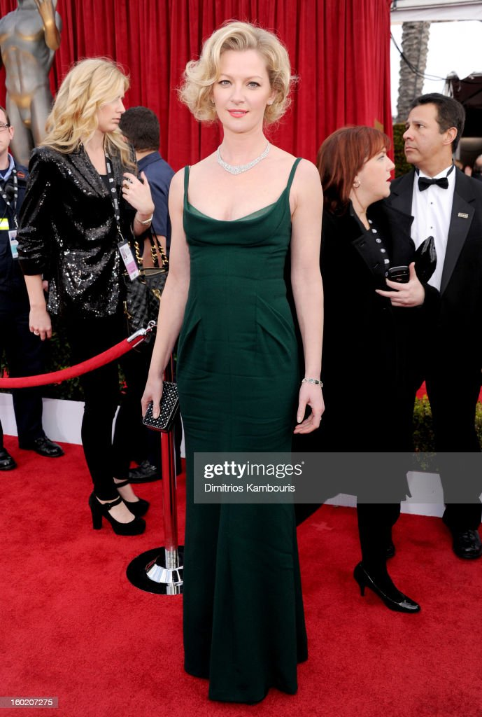 Actress Gretchen Mol attends the 19th Annual Screen Actors Guild Awards at The Shrine Auditorium on January 27, 2013 in Los Angeles, California. (Photo by Dimitrios Kambouris/WireImage) 23116_013_0930.jpg