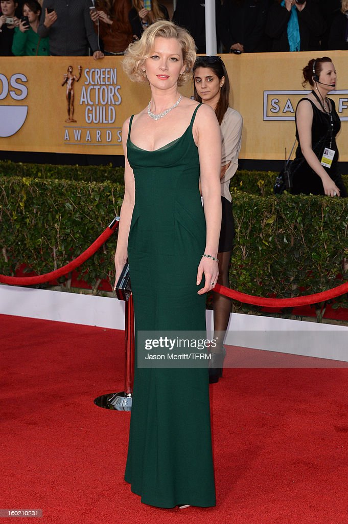 Actress Gretchen Mol attends the 19th Annual Screen Actors Guild Awards at The Shrine Auditorium on January 27, 2013 in Los Angeles, California. (Photo by Jason Merritt/WireImage) 23116_014_2916.jpg