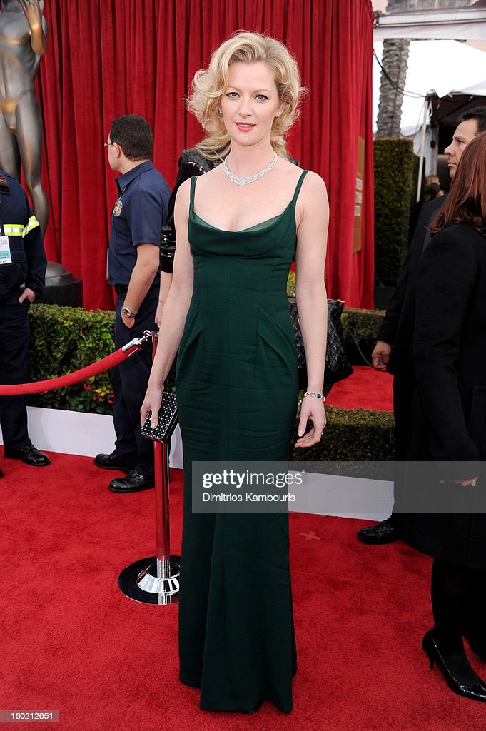 Actress Gretchen Mol attends the 19th Annual Screen Actors Guild Awards at The Shrine Auditorium on January 27, 2013 in Los Angeles, California. (Photo by Dimitrios Kambouris/WireImage) 23116_013_0932.jpg