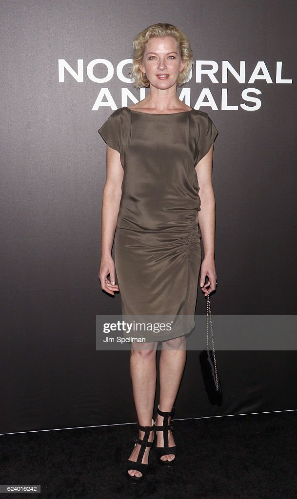 Actress Gretchen Mol attends the 'Nocturnal Animals' New York premiere at The Paris Theatre on November 17, 2016 in New York City.
