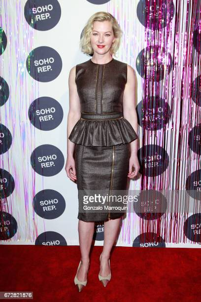 Actress Gretchen Mol attends the Soho Rep Spring 2017 Gala at The Lighthouse at Chelsea Piers on April 24 2017 in New York City