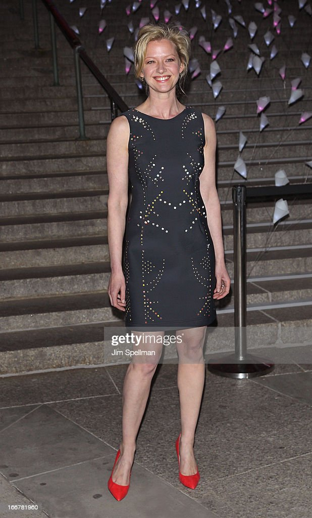 Actress Gretchen Mol attends the Vanity Fair Party during the 2013 Tribeca Film Festival at the State Supreme Courthouse on April 16, 2013 in New York City.