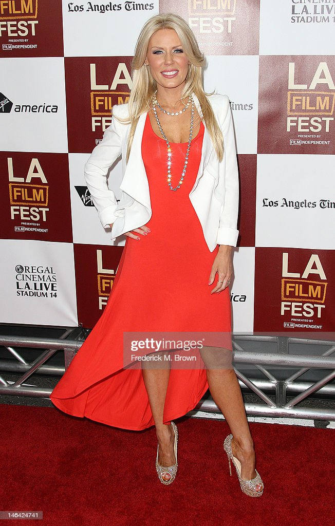 Actress Gretchen Rossi attends the Film Independent's 2012 Los Angeles Film Festival Premiere Of DreamWorks Pictures' 'People Like Us' at Regal Cinemas L.A. LIVE Stadium 14 on June 15, 2012 in Los Angeles, California.
