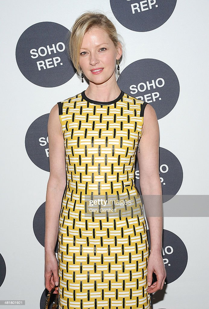 Actress Grtetchen Mol attends Soho Rep's 2014 Spring Fete at The Angel Orensanz Foundation on March 31, 2014 in New York City.