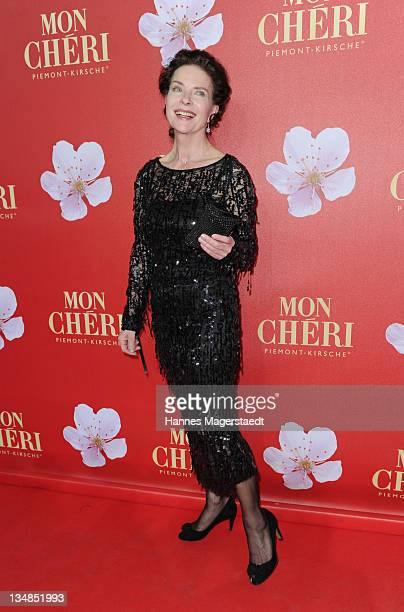 Actress Gudrun Landgrebe attends the 'Mon Cheri Barbara Day' Charityevent at Muellersches Volksbad on December 3 2011 in Munich Germany