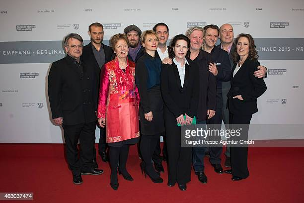 Actress Gudrun Landgrebe Till Frantzen Arne Nolting Arved Birnbaum Ronald Kukulies Christina Grosse Anke Grafeneder Gerda Mueller and guest attend...