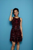 Actress Gugu Mbatha Raw of 'Belle' poses at the Guess Portrait Studio during 2013 Toronto International Film Festival on September 9 2013 in Toronto...