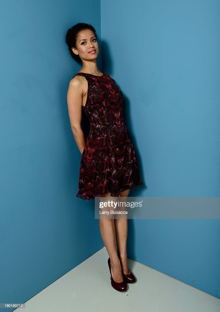 Actress Gugu Mbatha Raw of 'Belle' poses at the Guess Portrait Studio during 2013 Toronto International Film Festival on September 9, 2013 in Toronto, Canada.
