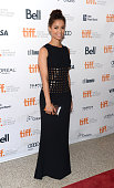 Actress Gugu MbathaRaw arrives at the 'Belle' Premiere during 2013 Toronto International Film Festival at The Elgin on September 8 2013 in Toronto...